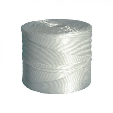 Spago Agricolo Sintetiico Bianco da 2 Kg da 1000 Metri